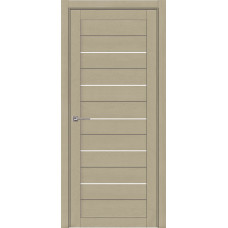 Дверь межкомнатная Light 2127 SoftTouch Кремовый Soft touch Остекленная