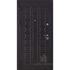 Дверь входная Консул, цвет венге, панель - консул цвет беленый дуб