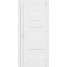 Дверь межкомнатная LIGHT 2110 Белый велюр Остекленная