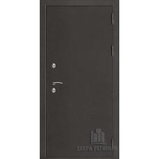 Дверь входная уличная Термо 3, цвет антик темное серебро, панель - термо 3 цвет венге светлый