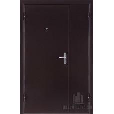 Дверь входная двухстворчатая дверь БМД 4 Топаз, цвет медный антик, панель - бмд 4 топаз цвет итальянский орех