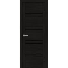 Дверь межкомнатная UniLine 30026 Шоко велюр Остекленная