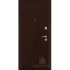 Дверь входная взломостойкая Феникс 3K, цвет медный антик, панель - панель пвх цвет кантри горизонт