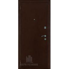Дверь входная взломостойкая Феникс, цвет медный антик, панель - стандарт цвет венге