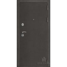 Дверь входная Галеон 2, цвет темное серебро антик, панель - галеон цвет сандал светлый