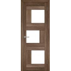 Дверь межкомнатная LIGHT 2181 Серый велюр Остекленная