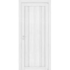 Дверь межкомнатная LIGHT 2190 Белый велюр Остекленная