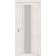 Дверь межкомнатная LIGHT 2191 Капучино велюр Остекленная