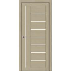 Дверь межкомнатная Light 2110 SoftTouch Кремовый Soft touch Остекленная