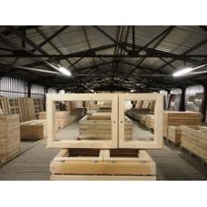 ОС 06-12 деревянный оконный блок двойной