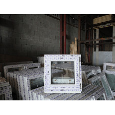 ПВХ 06-06 п/о пластиковое окно с поворотно-откидной створкой