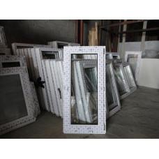 Пластиковое окно 12-06 с поворотно-откидным открыванием