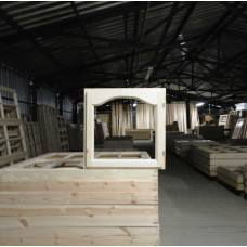 Окно деревянное одинарное ОДО1 п 06-06 ар