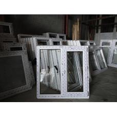 Пластиковое окно 900-900 ( ПВХ 09-09) поворотное