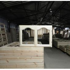 Окно деревянное арочное 06-09